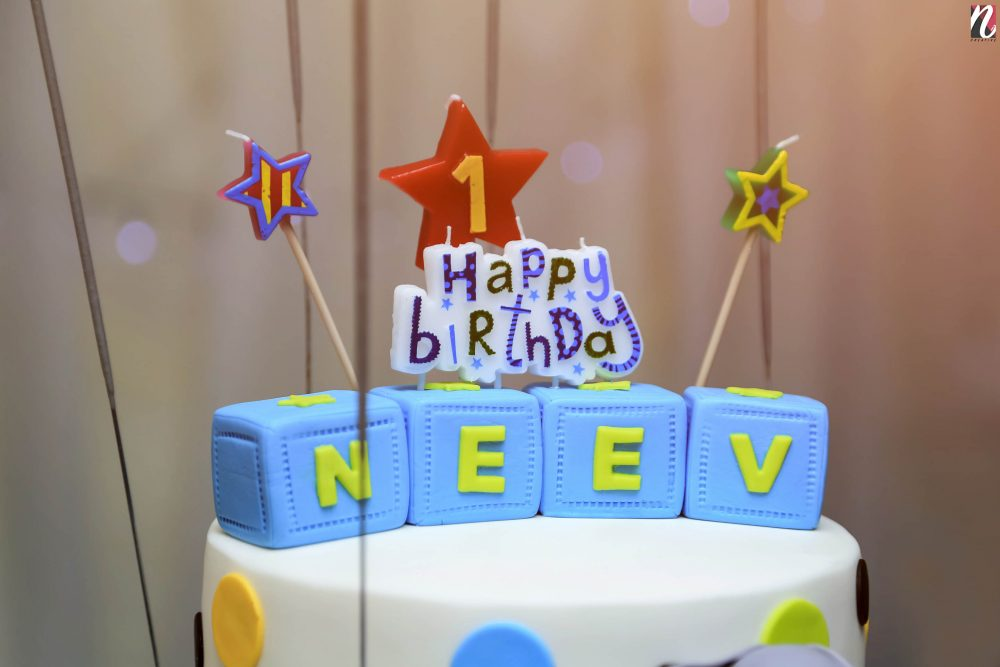 Neev's 1 st Birthday